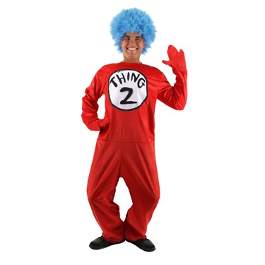 Dr. Seuss The Cat in the Hat - Thing 1 or Thing 2 Adult Costume