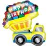 Dump Truck Jumbo Foil Balloon