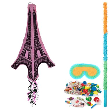 Eiffel Tower 3D Pinata Kit