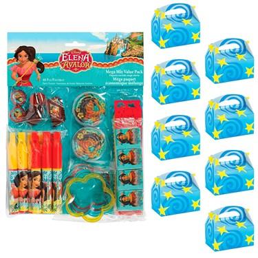 Elena of Avalor Filled Favor Box Kit  (For 8 Guests)