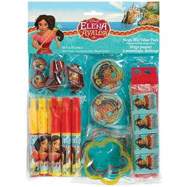 Elena of Avalor Mega Mix Favor Pack (48)