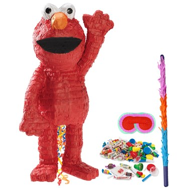 Elmo 3D Pinata Kit