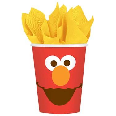 Elmo Paper 9oz Cups (8)