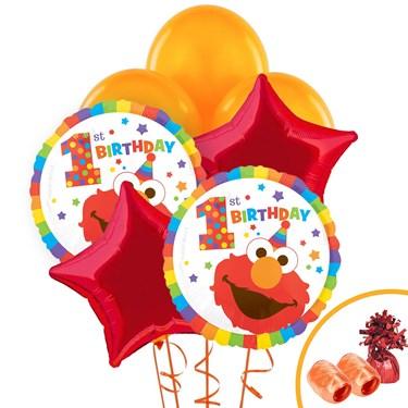 Elmo Turns One Balloon Bouquet Kit