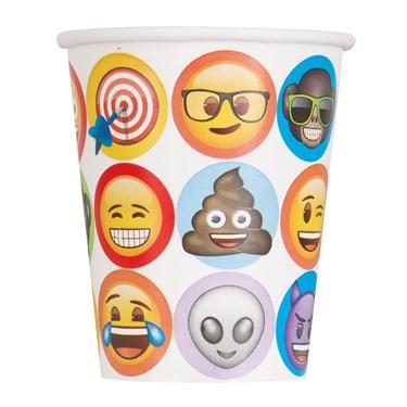 Emoji 9oz Paper Cups (8)