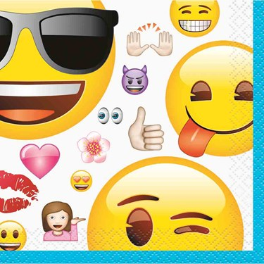 Emoji Beverage Napkins (16)