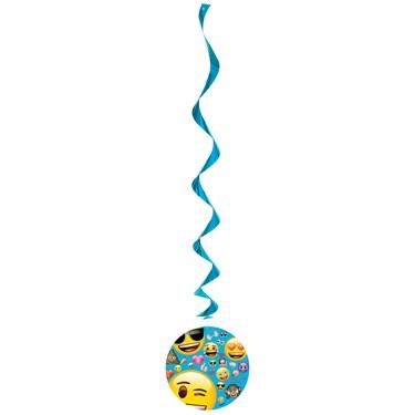 "Emoji Hanging 26"" Swirls (3 Count)"