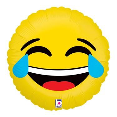 "Emoji Lol 18"" Balloon"
