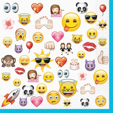 Emoji Luncheon Napkins (16)