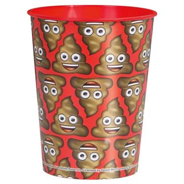 Emoji Poop 16oz Plastic Favor Cup (1)