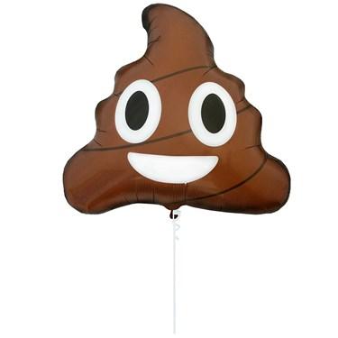 """Emoji Poop 24"""" Balloon (1)"""