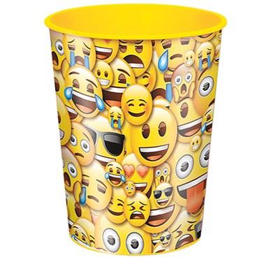 Emoji Smile 16oz Plastic Favor Cup (1)