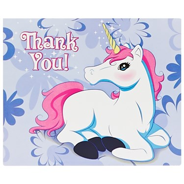 Enchanted Unicorn Thank-You Notes