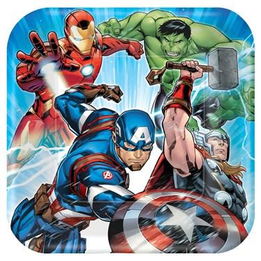 Epic Avengers Dinner Plate