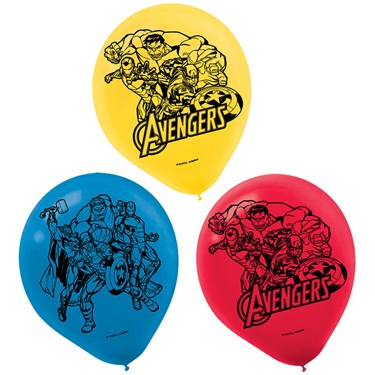 Epic Avengers Latex Balloons (6)