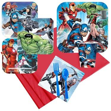 Epic Avengers Party Pack (For 8 Guests)