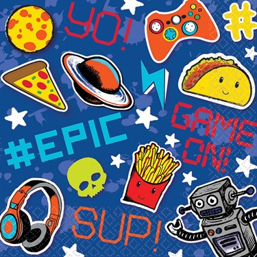 Epic Party  Lunch Napkins (16)