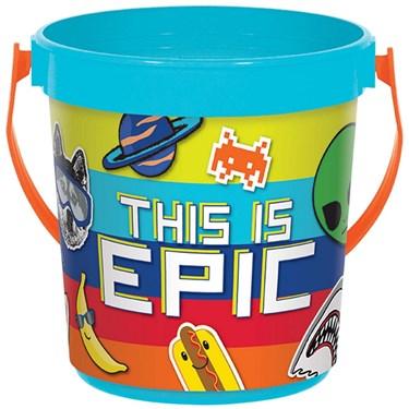 Epic Party  Plastic Favor Bucket