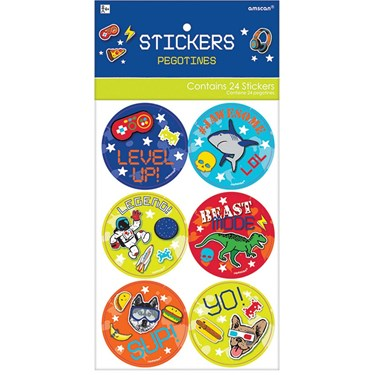 Epic Party  Stickers (24)