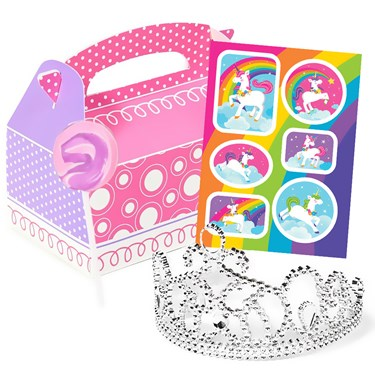 Fairytale Unicorn Party Filled Favor Box (4)
