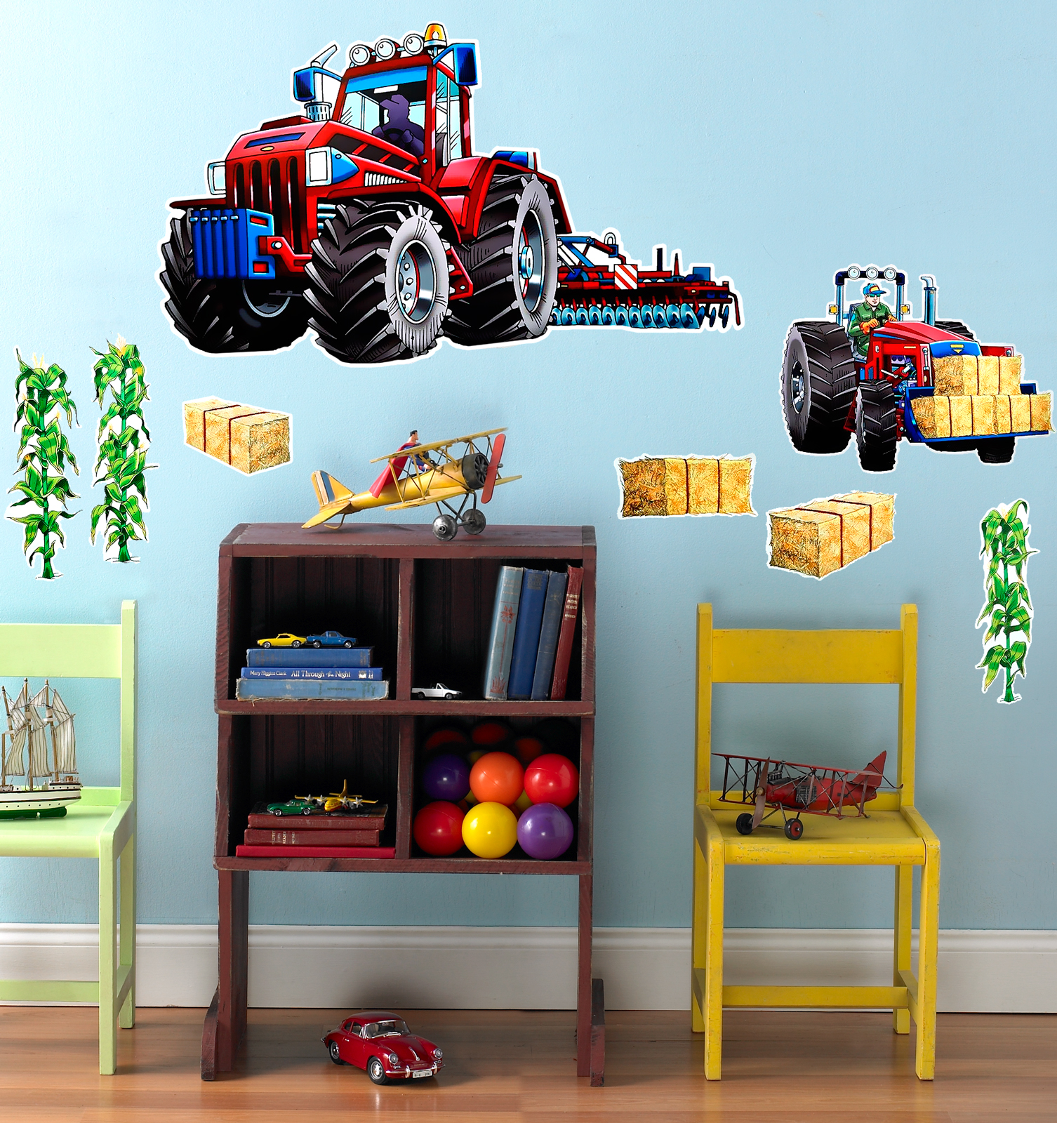 Superieur Default Image   Farm Tractor Giant Wall Decal