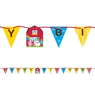 Farmhouse Ribbon Banner Decoration (1)