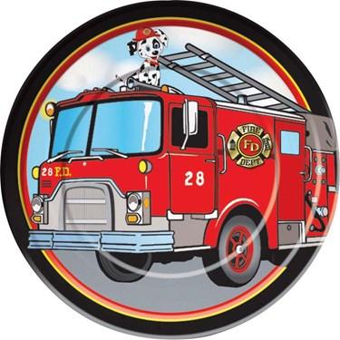 Firefighter Dinner Plates (8)