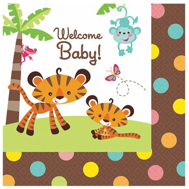 Fisher Price Baby Shower Lunch Napkins (16)