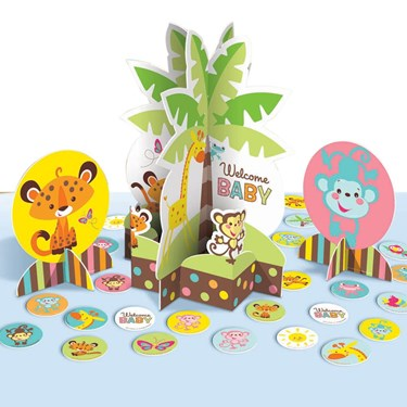 Fisher Price Baby Shower Table Decorating Kit
