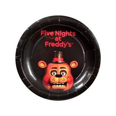 Five Nights at Freddy's Dessert Plates (8)