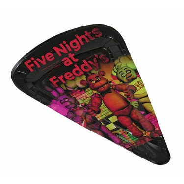 Five Nights at Freddy's Pizza Plate (1)