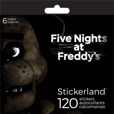 Five Nights At Freddy's Sticker Pad (120 Stickers)