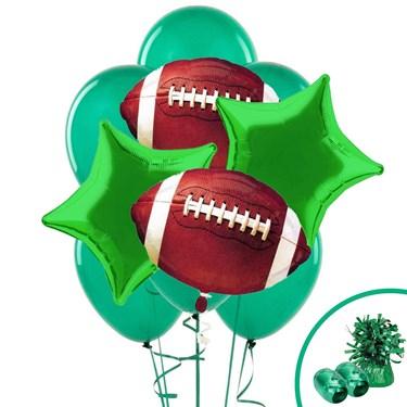 Football Balloon Bouquet Kit