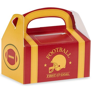 Football Game Time Empty Favor Boxes (4)