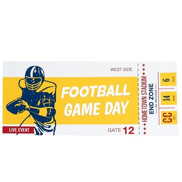 Football Game Time Invitations (8)