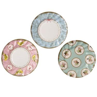 Frills & Frosting Dessert Plates (12)