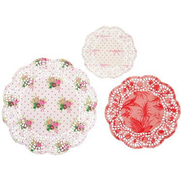 Frills & Frosting Doilies (24)