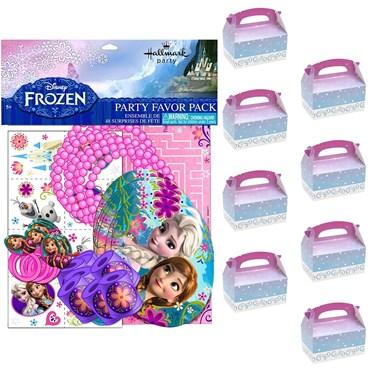 Frozen Filled Favor Box Kit  (For 8 Guests)