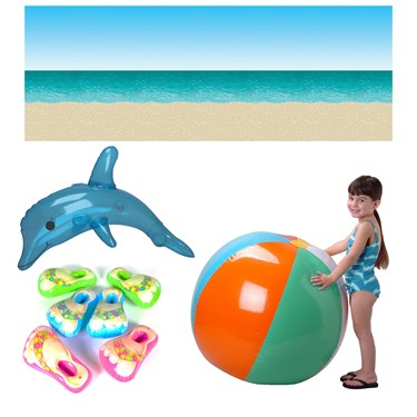 Fun At The Beach Inflatable Prop Kit