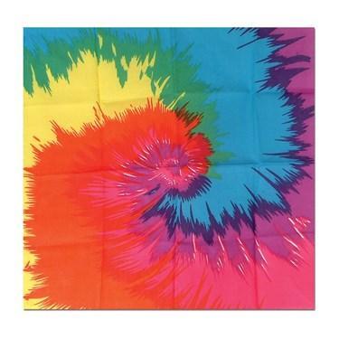 Funky Tie-Dyed Bandana