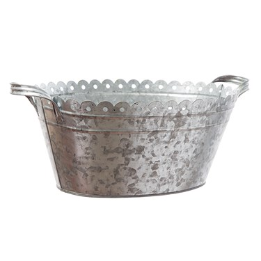 Galvanized Tub Metal Bucket (1)