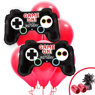 Game On Birthday Balloon Bouquet Kit