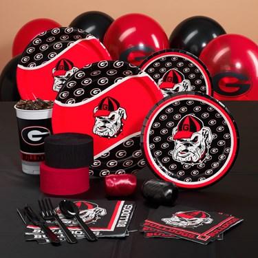 Georgia Bulldogs College Party Packs