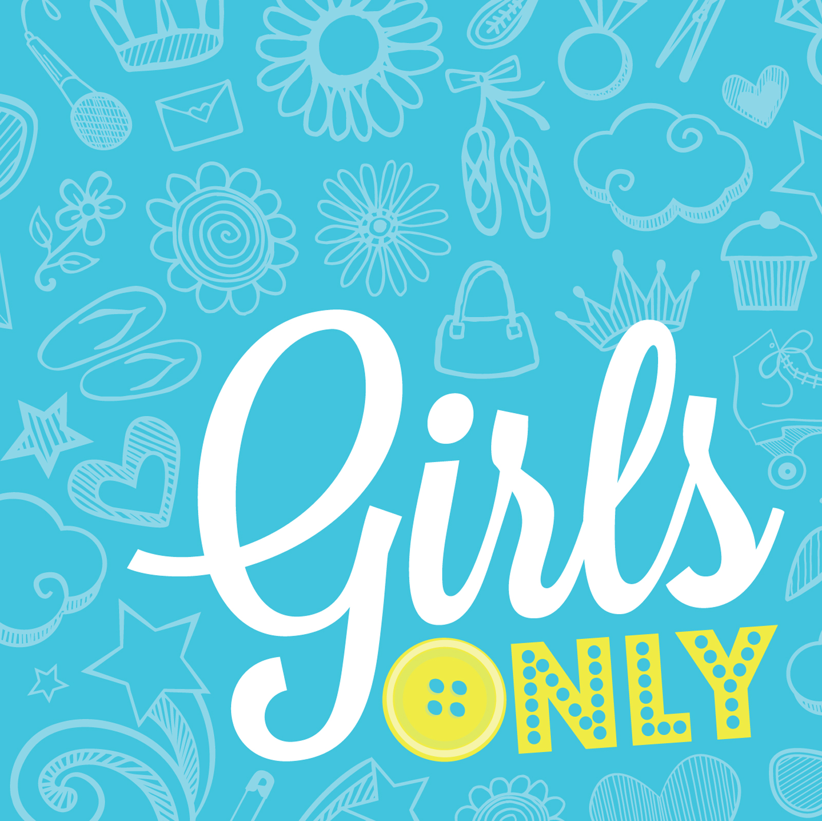Girls Only Party Lunch Napkins | BirthdayExpress.com