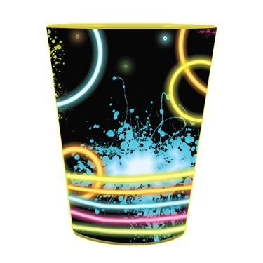 Glow Party 16 Oz Plastic Favor Cup