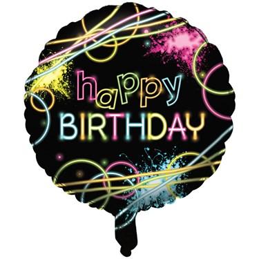 "Glow Party 18"" Foil Balloon"