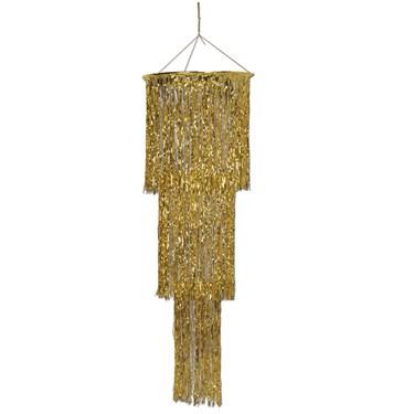 Gold Shimmering Chandelier
