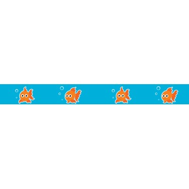 "Goldfish Grosgrain Ribbon (7/8"")"