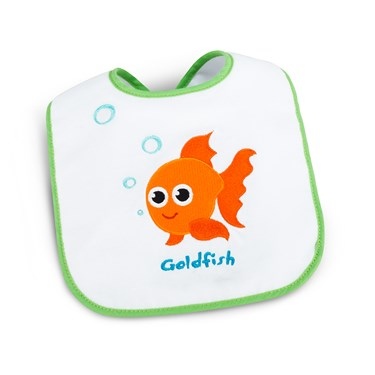 Goldfish Party 1st Birthday Bib