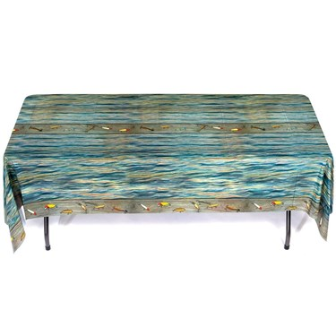 Gone Fishin Table Cover (1)